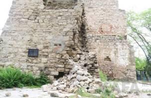 Смоляне отреставрируют крепостную башню в Феодосии