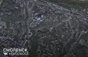В Сети появилось фото Смоленска из космоса