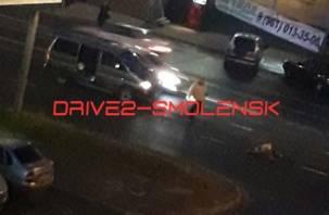 На улице Шевченко водитель сбил мужчину
