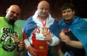 Смоленский мас-рестлер стал абсолютным чемпионом Европы