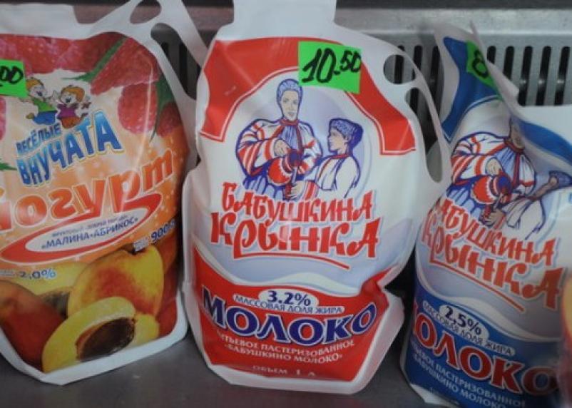 Белорусские молочные продукты в Смоленске стоят дешевле, чем на родине