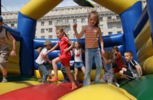 В Смоленске закрыли уголовное дело о перевернувшемся батуте с детьми