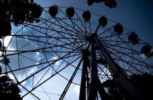 В свои 30 лет смоленское колесо обозрения «взяло» выходной