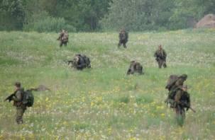 Смоленское УФСБ отработало обезвреживание террористов. Фоторепортаж