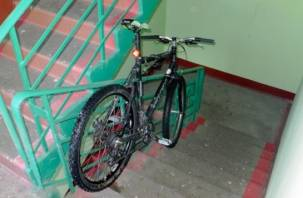 В Вяземском районе мужчина украл дорогой велосипед