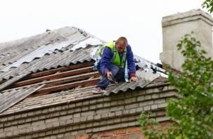 В Смоленской области мужчина погиб, упав с крыши