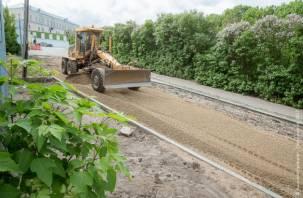 В Смоленске восстановят дорогу после прошлогоднего прорыва