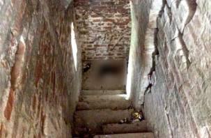Смоленская крепость убила своего туриста. ФОТО