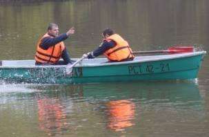 Смоленские добровольцы начали поиски ребенка, утонувшего больше месяца назад