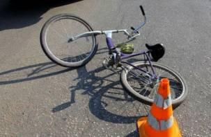 В Смоленской области юная велосипедистка «влетела» в грузовик