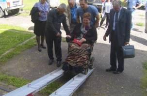 На Смоленщине продолжается скандальный суд над женщиной-инвалидом, которая помогла беженцам из Донбасса