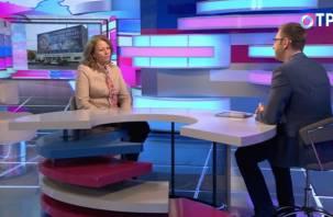 Федеральный телеканал рассказал о смоленском музее Гагарина