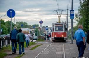 В Смоленске трамваи перестали ходить в Заднепровье