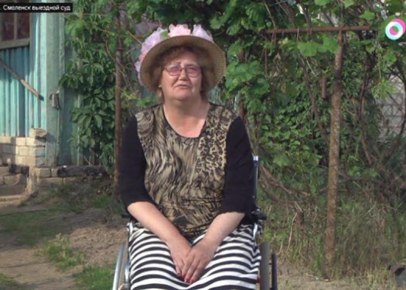 Федеральный телеканал рассказал, как на Смоленщине будут судить женщину-инвалида за помощь беженцам из Донбасса