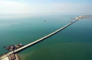 На стройку Керченского моста приехали смоляне