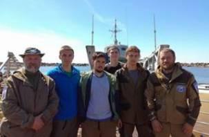Смоленские студенты приняли участие в экспедиции «Гогланд»