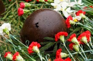 Под Смоленском перезахоронят погибших в 1942 году красноармейцев