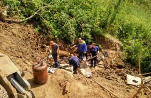 В ходе ремонта на Верхне-Ясенном водозаборе нашли опасный предмет