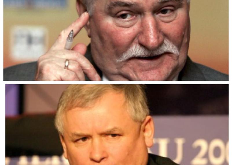 Качиньский подал в суд на Валенсу, тот обвинил его в смоленской авиакатастрофе и назвал психом