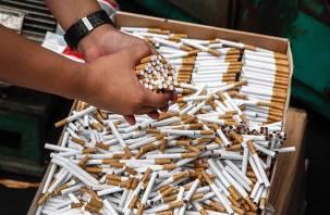 В Смоленске изъяли 10 тысяч пачек контрафактных сигарет