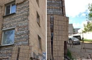 В Смоленске отремонтируют разваливающийся дом