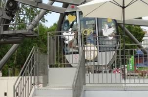 На «Колесе обозрения» в Смоленске может появиться кабинка для молодоженов