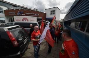 Смоленский патриотический автопробег не пустили на Съезд белорусов мира