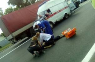 В Смоленске ищут свидетелей ДТП со сбитым насмерть подростком