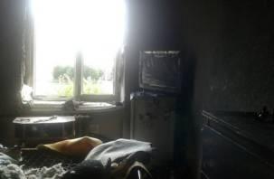 Жильцы дома в центре Смоленска рассказали жуткие подробности о недавнем пожаре