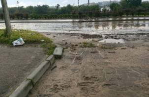 В Смоленске устраняют последствия стихии