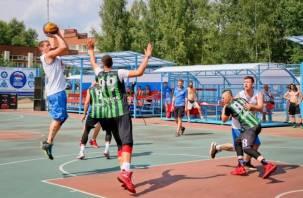 В Десногорске прошел баскетбольный фестиваль