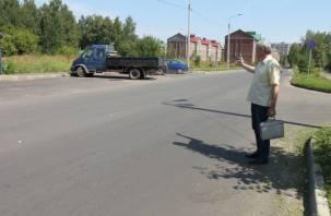 Замглавы Смоленска не заметил отсутствие разметки в Соловьиной Роще