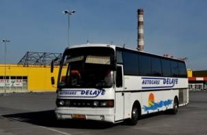 Смоленский автобус с пассажирами протаранил иномарку