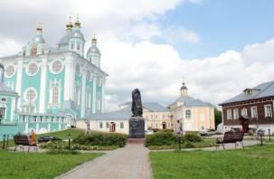 Памятник Владимиру Мономаху официально откроют только в конце августе