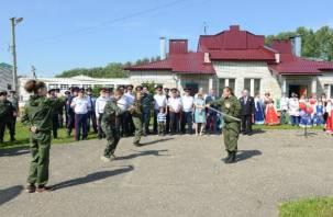 В Смоленске завершается российско-белорусский слет казачьей молодежи