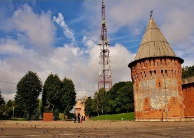 У Громовой башни Смоленской крепостной стены установят памятный знак
