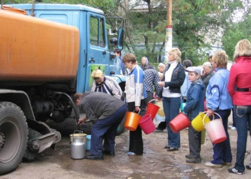 В Смоленске на двух улицах отключат холодную воду