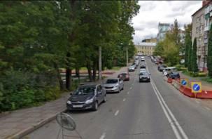 На улице Козлова в Смоленске ограничат движение