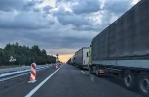 Смоленская область может потерять грузопоток из Калининграда в Москву