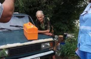 Подмосковный бомж собирается зимовать в Смоленске