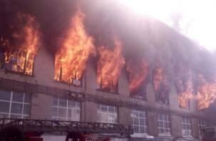 В Смоленске СК начал проверку в связи с пожаром на фабрике «Шарм»