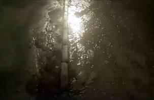 На Нормандии-Неман в Смоленске из-под земли забил родник