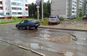 «Самая убитая дорога в Смоленске» оказалась бесхозной
