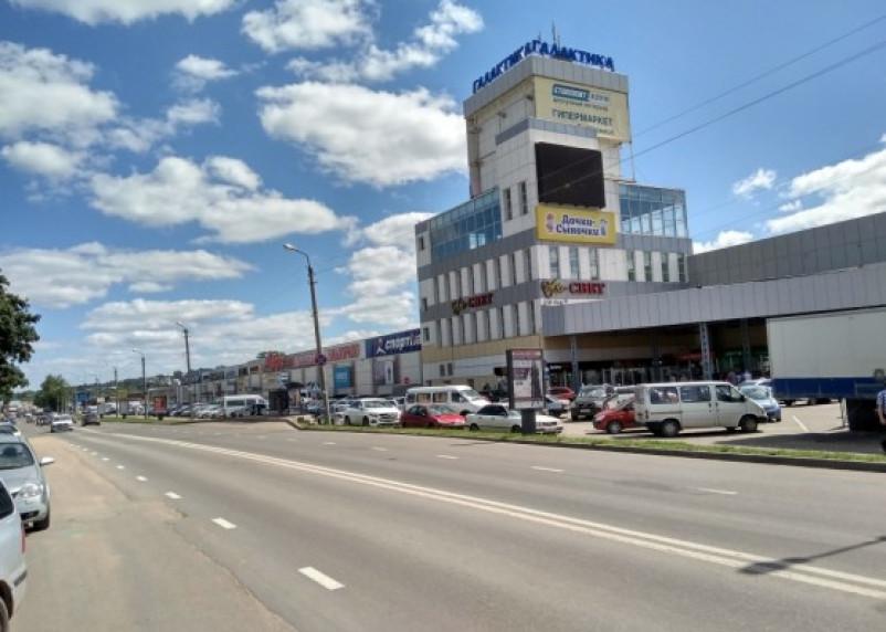 В Смоленске суд постановил очистить «Галактику» от наружной рекламы
