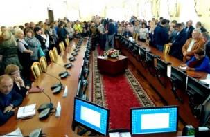 Смоляне проголосовали за вырубку остатков лесопитомника в Киселевке