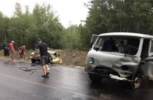 В Смоленской области столкнулись иномарка и «буханка». Есть пострадавшие