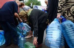 Микрорайон и переулок в Смоленске останутся без воды