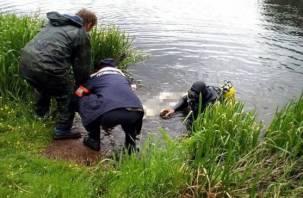 В смоленском водоеме несколько дней плавал труп мужчины