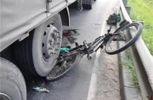 В Смоленской области фура насмерть сбила велосипедиста