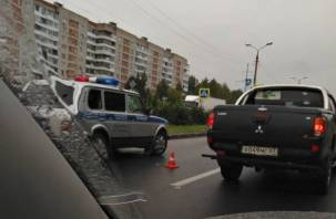 В Смоленске на проспекте Строителей столкнулись «субару» и «ситроен»
